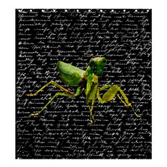 Mantis Shower Curtain 66  X 72  (large)  by Valentinaart