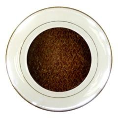 Texture Background Rust Surface Shape Porcelain Plates by Simbadda