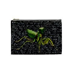 Mantis Cosmetic Bag (medium)  by Valentinaart