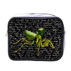 Mantis Mini Toiletries Bags by Valentinaart