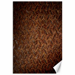 Texture Background Rust Surface Shape Canvas 12  X 18   by Simbadda