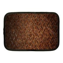 Texture Background Rust Surface Shape Netbook Case (medium)  by Simbadda