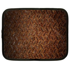 Texture Background Rust Surface Shape Netbook Case (large) by Simbadda