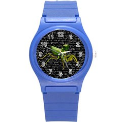 Mantis Round Plastic Sport Watch (s) by Valentinaart