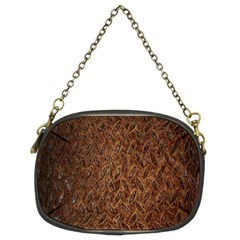 Texture Background Rust Surface Shape Chain Purses (two Sides)  by Simbadda