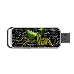 Mantis Portable Usb Flash (two Sides) by Valentinaart