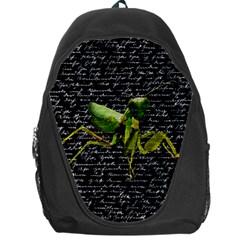Mantis Backpack Bag by Valentinaart