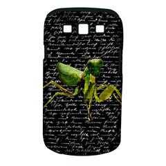 Mantis Samsung Galaxy S Iii Classic Hardshell Case (pc+silicone) by Valentinaart