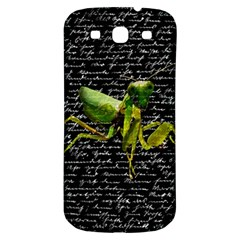 Mantis Samsung Galaxy S3 S Iii Classic Hardshell Back Case by Valentinaart