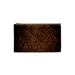 Texture Background Rust Surface Shape Cosmetic Bag (small)  by Simbadda