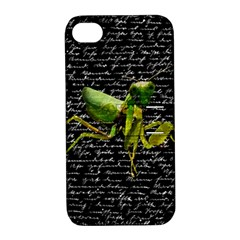 Mantis Apple Iphone 4/4s Hardshell Case With Stand by Valentinaart