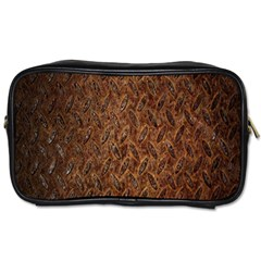 Texture Background Rust Surface Shape Toiletries Bags 2 Side by Simbadda