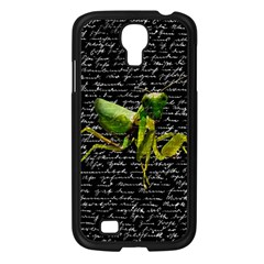 Mantis Samsung Galaxy S4 I9500/ I9505 Case (black) by Valentinaart