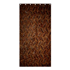 Texture Background Rust Surface Shape Shower Curtain 36  X 72  (stall)  by Simbadda