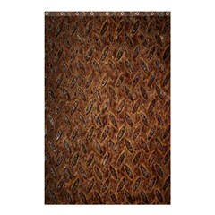 Texture Background Rust Surface Shape Shower Curtain 48  X 72  (small)  by Simbadda