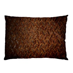 Texture Background Rust Surface Shape Pillow Case (two Sides) by Simbadda