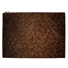 Texture Background Rust Surface Shape Cosmetic Bag (xxl)  by Simbadda