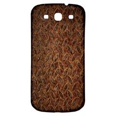 Texture Background Rust Surface Shape Samsung Galaxy S3 S Iii Classic Hardshell Back Case by Simbadda
