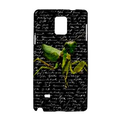Mantis Samsung Galaxy Note 4 Hardshell Case by Valentinaart
