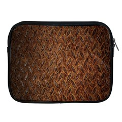 Texture Background Rust Surface Shape Apple Ipad 2/3/4 Zipper Cases by Simbadda