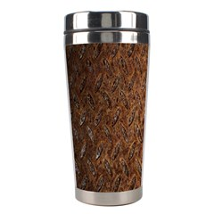 Texture Background Rust Surface Shape Stainless Steel Travel Tumblers by Simbadda