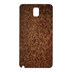 Texture Background Rust Surface Shape Samsung Galaxy Note 3 N9005 Hardshell Back Case by Simbadda