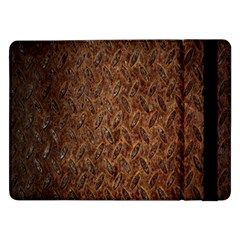 Texture Background Rust Surface Shape Samsung Galaxy Tab Pro 12 2  Flip Case by Simbadda