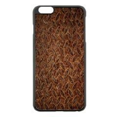 Texture Background Rust Surface Shape Apple Iphone 6 Plus/6s Plus Black Enamel Case by Simbadda
