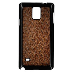 Texture Background Rust Surface Shape Samsung Galaxy Note 4 Case (black) by Simbadda