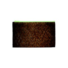 Texture Background Rust Surface Shape Cosmetic Bag (xs) by Simbadda