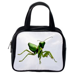Mantis Classic Handbags (one Side) by Valentinaart