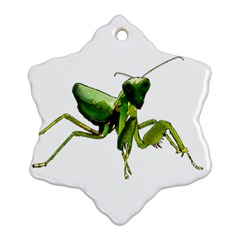 Mantis Ornament (snowflake) by Valentinaart