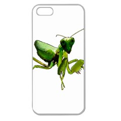 Mantis Apple Seamless Iphone 5 Case (clear) by Valentinaart