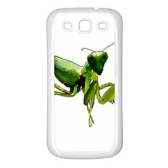 Mantis Samsung Galaxy S3 Back Case (white) by Valentinaart