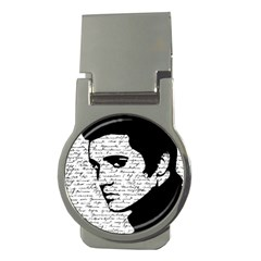 Elvis Money Clips (round)  by Valentinaart