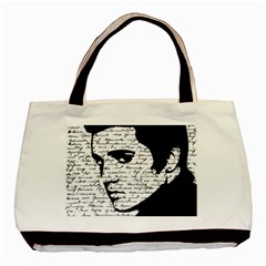 Elvis Basic Tote Bag (two Sides) by Valentinaart