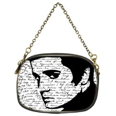 Elvis Chain Purses (one Side)  by Valentinaart