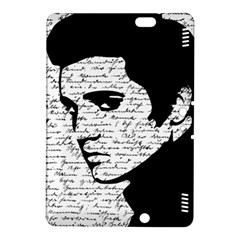 Elvis Kindle Fire Hdx 8 9  Hardshell Case by Valentinaart