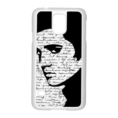 Elvis Samsung Galaxy S5 Case (white) by Valentinaart