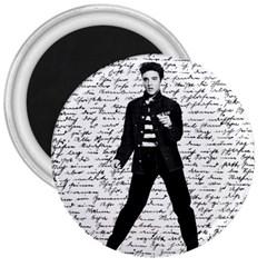 Elvis 3  Magnets by Valentinaart