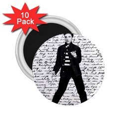 Elvis 2 25  Magnets (10 Pack)  by Valentinaart