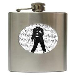 Elvis Hip Flask (6 Oz) by Valentinaart