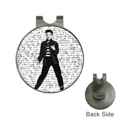 Elvis Hat Clips With Golf Markers by Valentinaart