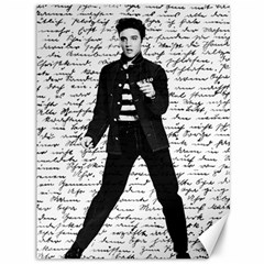 Elvis Canvas 36  X 48   by Valentinaart