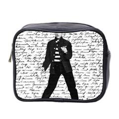 Elvis Mini Toiletries Bag 2 Side by Valentinaart