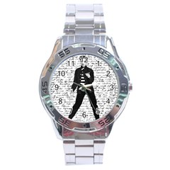 Elvis Stainless Steel Analogue Watch by Valentinaart