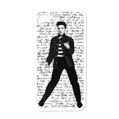Elvis Apple Iphone 4 Case (white) by Valentinaart