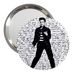 Elvis 3  Handbag Mirrors by Valentinaart