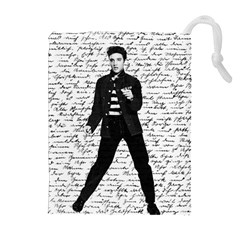 Elvis Drawstring Pouches (Extra Large) by Valentinaart
