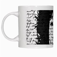 Morrison White Mugs by Valentinaart